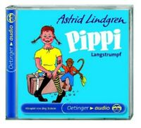 ASTRID LINDGREN - PIPPI LANGSTRUMPF  CD NEW