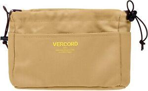 Vercord Canvas Handbag Organizers, Sturdy Purse Insert Organizer Bag in Bag, 10