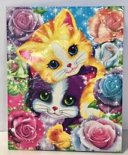 Vintage Lisa Frank Folder, Playtime Kittens NEW Sparkly Glitter 2 Pocket 90s
