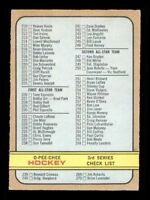 1972-73 O-Pee-Chee #334 Checklist Error EXMT X1272364