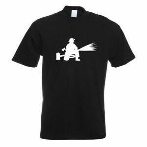 Vigile Del Fuoco Pompiere T-Shirt Motivo Stampato Funshirt Progettazione Stampa