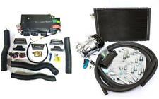 Gearhead Mini AC Heat Defrost Air Conditioning A/C Kit + Compressor & Fittings