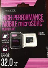 Infinitive Class 10 Ultra Micro SD Card With Adaptor 32GB