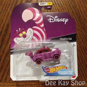 Cheshire Cat - Disney Character Cars Series 7 - Hot Wheels (2020)