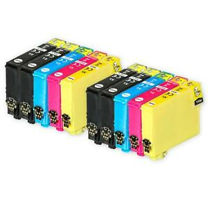 10 Ink Cartridges XL for Epson Expression Home XP-255, XP-342, XP-432, XP-452