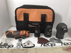 RIDGID Dremel R8223400 r8223405 r8223404 Power Handle Console w/ Bag & Battery