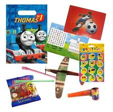 Pre Filled Thomas the Tank Engine Party Bags Ready Made Goody Bags Boys Favours