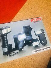 Metz Mecablitz Electronic Flashguns Brochure