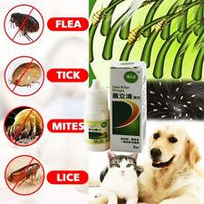 8ml Pets Dog Cat Anti-flea Drops Insecticide Flea Lice Insect Killer Liquid Easy