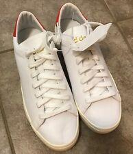 ADIDAS Court Vantage Sneaker Shoes Cloud White / Red CQ2566 sz 9