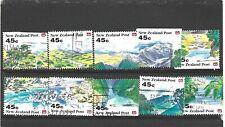 New Zealand 1992 Scenery Booklet Set Fine Used