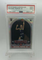 2018 Panini Chronicles Marquee Michael Porter JR. #251 Rookie Card PSA 9 Mint