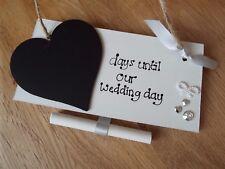 Days until our wedding chalkboard countdown Mr & Mrs Mr & Mr Mrs & Mrs Keepsake