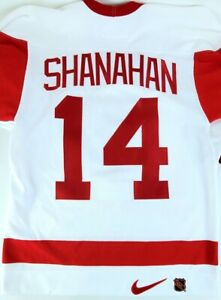 Authentic NHL Hockey Jersey Detroit Red Wings Brendan Shanahan A Captain #14