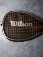 Wilson Arrow Dynamic Extrusion Racquetball Racquet with original cover NICE!!!!!