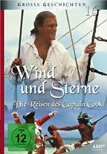 Wind und Sterne - Die Reisen des Captain Cook, 2 DVDs, Zustand sehr gut