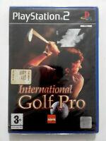 Spiel International Golf Pro Videogame Selten Für PLAYSTATION 2 ps2 Pal Eng Neu