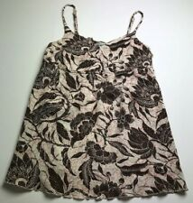 Old Navy Maternity Women's Spaghetti Strap Tank Top XS Floral Stretch Summer