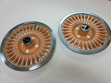 (2) NOS 1978 - 1991 Ford Fairmont Mustang   wheel covers hubcaps  OEM