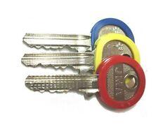 4 X Identification Key Rings -  Id Key Caps / Covers Key Identifier - PACK OF 4