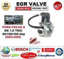 PER FORD FOCUS II da 1.6 TDCi 90/100/109 BHP 2004-2005 EGR VALVOLA 5PIN CON CAVO