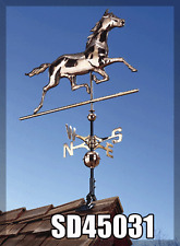 "Whitehall Horse 54"" Weathervane Classic Copper w/ Mount!  Ships FREE & QUICKLY!"
