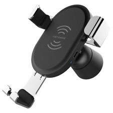 Qi Wireless Car Fast Charger Charging Mount Holder for iPhone X Samsung S8 S9 UK