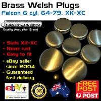 Brass Welch Welsh Freeze Core Plug Set Gallery Kit Fits Ford Falcon 6 144-250