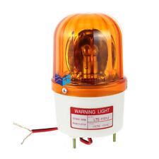 LTE-1101J Industrial AC 110V Bulb Flash Siren Emergency Rotary Warning Light Yel