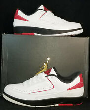 NIB Mens 10 AIR JORDAN 2 RETRO LOW 832819 101 WHITE LIFESTYLE CASUAL SHOES $160