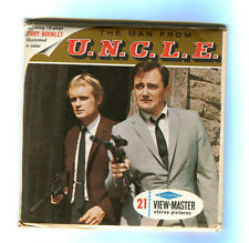1966 MAN FROM U.N.C.L.E. TV SHOW - VIEW-MASTER SET MINT COMPLETE