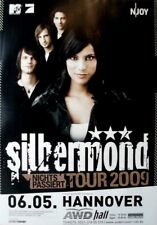 SILBERMOND - 2009 - Konzertplakat - Nichts Passiert - Tourposter - Hannover