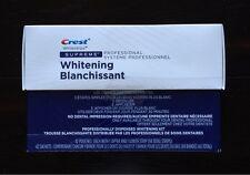 Crest Whitestrips Supreme Professional Dental Teeth Whitening Strips Kit