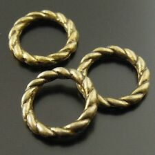 400pcs/Lot Vintage Bronze Alloy Closed Jump Ring Jewelry Making DIY Findings 8mm