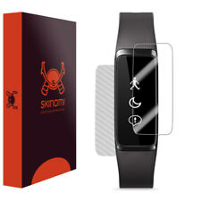 Skinomi Silver Carbon Fiber & Screen Protector Acer Liquid Leap+ Fitness Watch