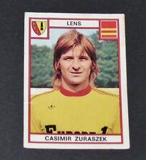 PANINI FOOTBALL 76 N°68 CASIMIR ZURASZEK RC LENS RCL BOLLAERT SANG & OR 1976