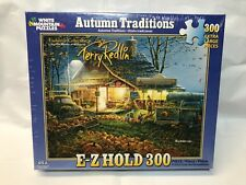 """White Mountain Puzzle 300 Piece Art Autumn Traditions XL Pieces 18""""x24"""" Fall NEW"""
