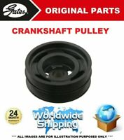 GATES CRANKSHAFT PULLEY for BMW 3 Touring (E91) 320d xDrive 2009-2012