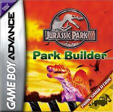 Jurassic Park III: Park Builder New Sealed - Nintendo Gameboy Advance