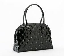 Rock Rebel Black Lucy Quilted Handbag with Spiders Purse by GG Rose