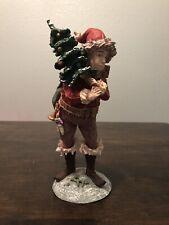 1985 Duncan Royale Santa Claus Ii Pixie Figurine 12� Tall