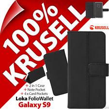 KRUSELL Loka Folio Porte-feuille 2-in-1 Pied étui rabattable pour Samsung Galaxy