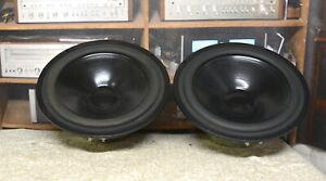2 SEAS woofers CA21 RE/TV H918 woofers from Triad speakers