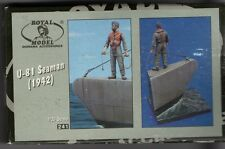 ROYAL MODEL 241 - U-81 SEAMAN (1942) - 1/35 RESIN KIT