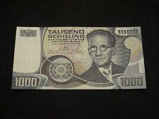 1000 Schilling 1983 Austria, Erwin Schrödinger, UNC