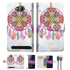 Dream Catcher Wallet TPU Case Cover For HUAWEI Y3 II 2 -- A016