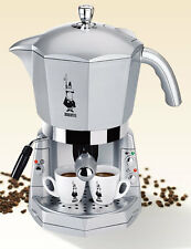 Mokona Bialetti macchina caffe espresso 20 bar silver coffe machine new - Rotex