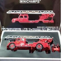 Minichamps Diecast Fire Truck Model Car Rare Decor Collectible 1/43 Hobby Toy