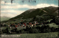 Bad Kohlgrub Oberbayern Postkarte Photohaus Schlichting Dorfansicht mit Hörnle