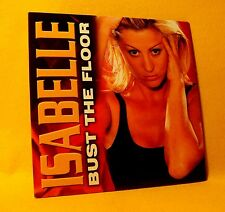 NEW Cardsleeve Single CD Isabelle Bust The Floor 2TR 2001 Euro House